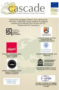 CASCADE_Caucasus_Project_Working_Team_Partners
