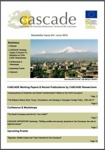 CASCADE_Caucasus_Newsletter_June_2016